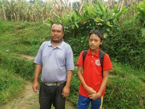 Sujan en zijn vader