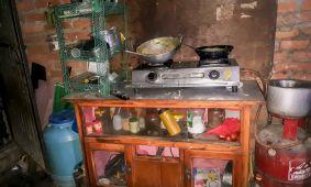 De keuken bij Purnima en Sumnima